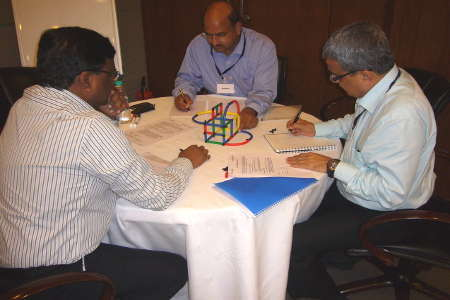 Participants capitalise on diversity