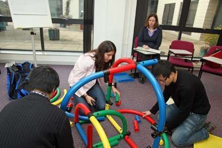 Participants develop their ideas